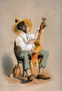 negro-playing-banjo